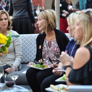 GLOW Cocktails in the Courtyard Business Connection