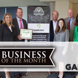 Garrard Group Named October 2017 Chairman's Club Business of the Month