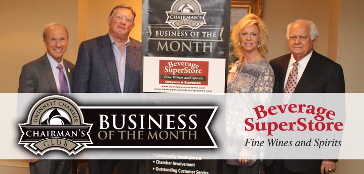 Beverage Superstores Honored as the January 2018 Chairman's Club Business of the Month