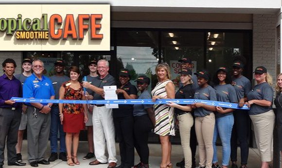 Tropical Smoothie Cafe is Officially Open!