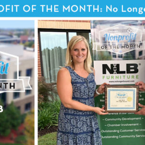 No Longer Bound Selected as July 2018 Nonprofit of the Month