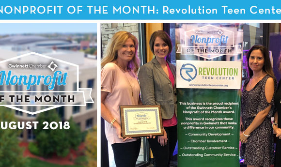 Revolution Teen Center Selected as the August 2018 Nonprofit of the Month