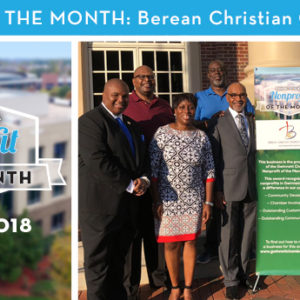Berean Christian Church Gwinnett Named October 2018 Nonprofit of the Month