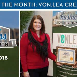 Von.Lea Creative Group Named January 2018 Business of the Month