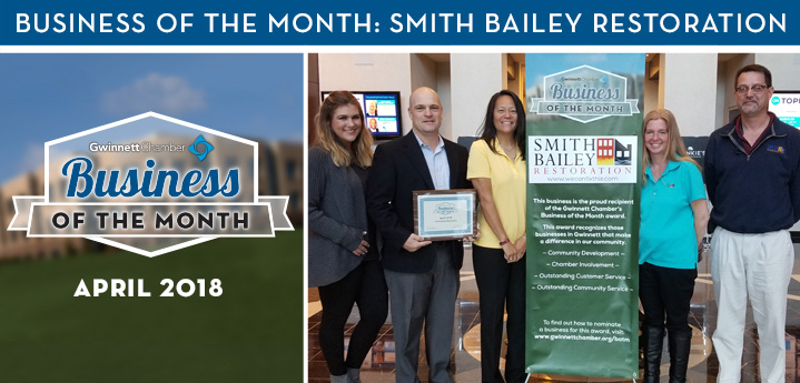 Smith Bailey Restoration Named April 2018 Business of the Month