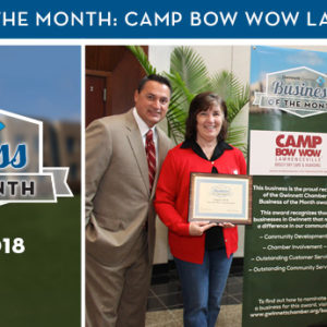 Camp Bow Wow Lawrenceville Named August 2018 Business of the Month