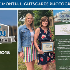 Lightscapes Photographic Artwork is the September 2018 Business of the Month