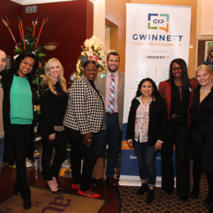 Gwinnett YP mingles at Holiday Happy Hour