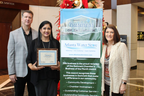 Atlanta Water Store Named December 2018 Business of the Month