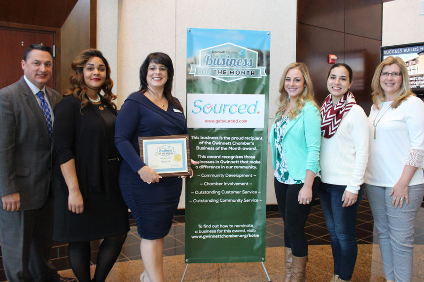 Sourced Chosen as February 2019 Business of the Month