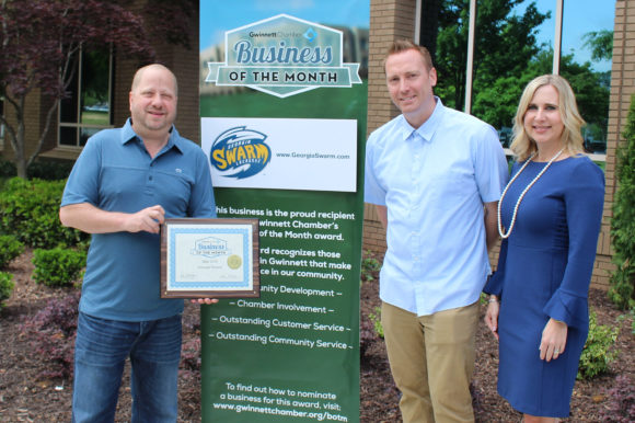 Georgia Swarm named May Business of the Month