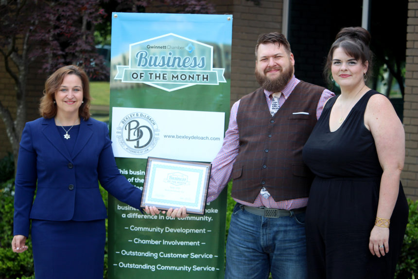 Bexley & DeLoach named June Business of the Month