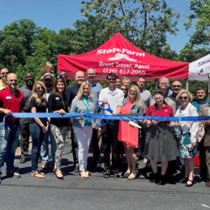 Brent Troyer State Farm agent celebrates opening in Duluth