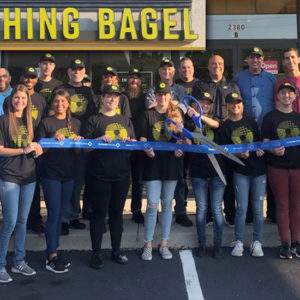 Everything Bagel celebrates ribbon cutting in Buford