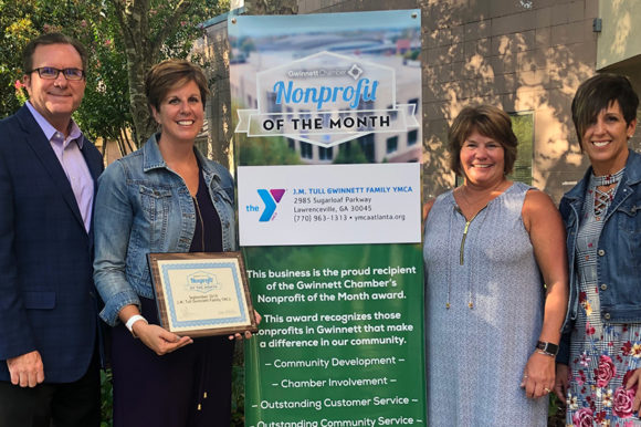 J.M. Tull-Gwinnett Family YMCA named September Nonprofit of the Month
