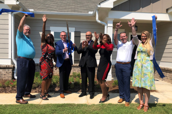 Seaboard Junction by Paran Homes celebrates ribbon cutting