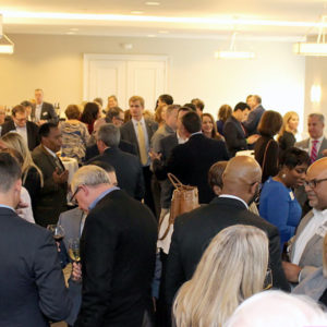 Public officials hob nob at Gwinnett Chamber's Key Leadership Reception