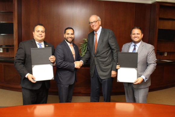 Gwinnett Chamber and Georgia Hispanic Chamber of Commerce sign Memorandum of Understanding