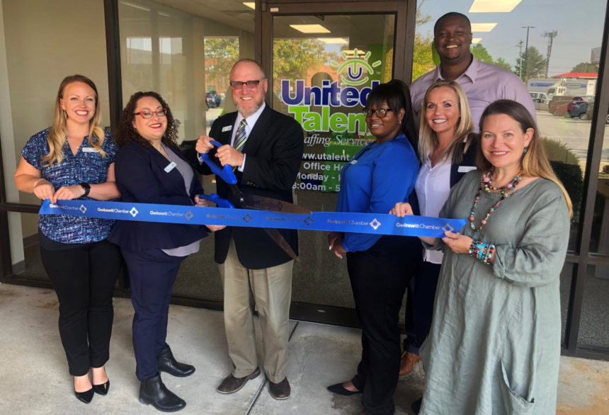 United Talent Staffing Services celebrates ribbon cutting