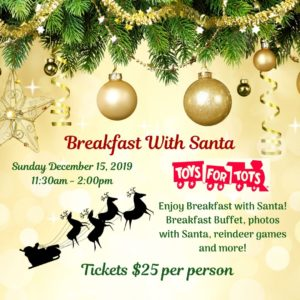 Breakfast with Santa 2019 @ Carl House