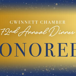 Gwinnett Chamber announces annual awards gala honorees
