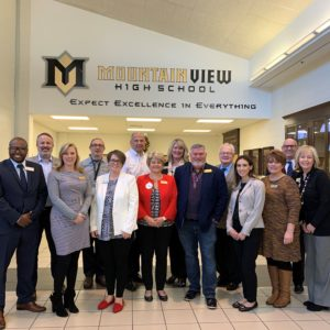 Community leaders go behind the scenes for Principal for a Day