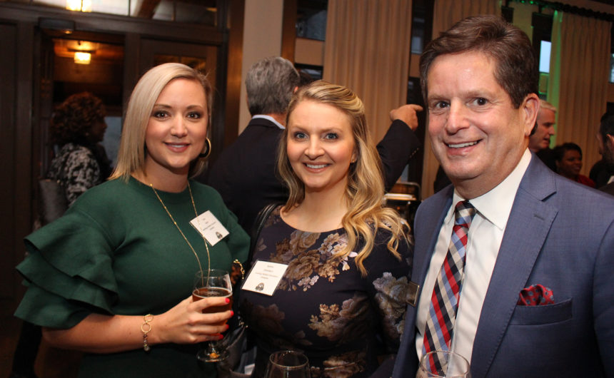 Executives celebrated at the Chairman's Club Holiday Reception
