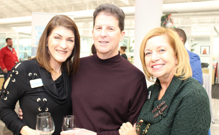 Members celebrate the holiday season at Business After Hours