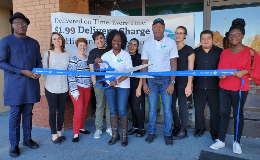 On His Wings Delivery celebrates ribbon cutting
