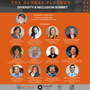 2020 Global Fluency Diversity & Inclusion Summit @ Atlanta Tech Park
