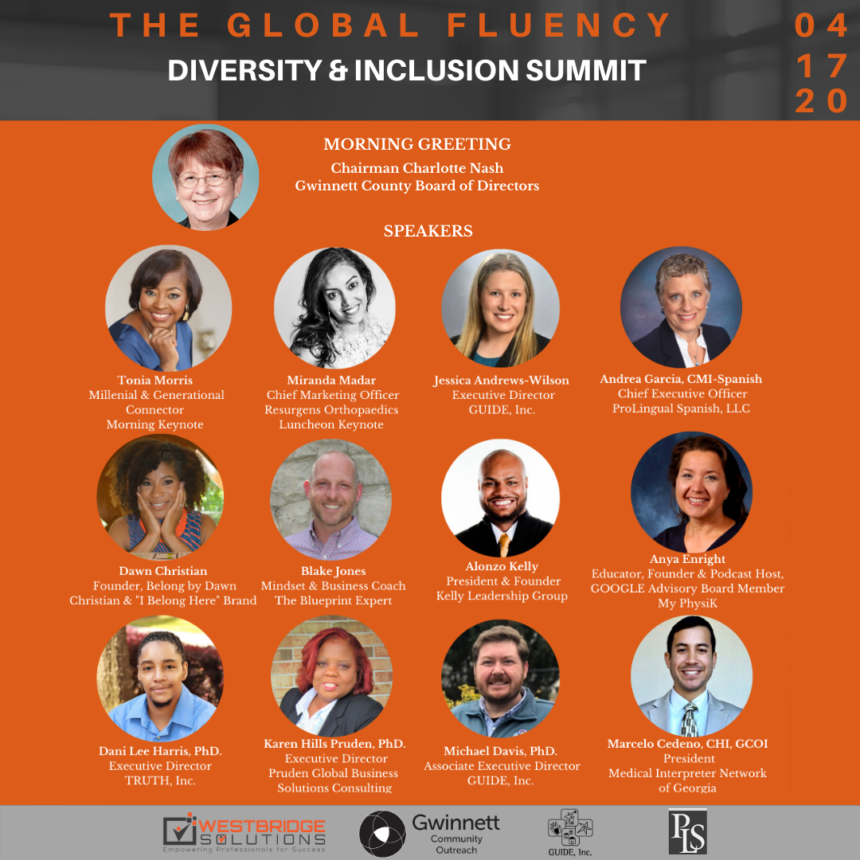 2020 Global Fluency Diversity & Inclusion Summit