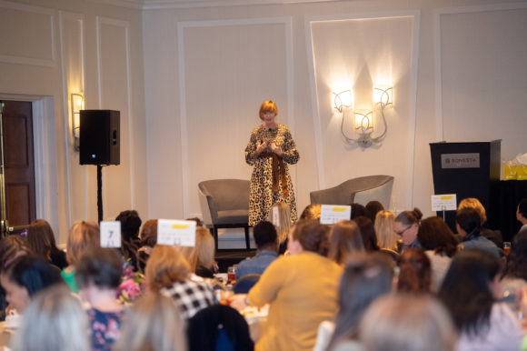 Kendra Scott VP of Brand and Innovation wows at GLOW Luncheon