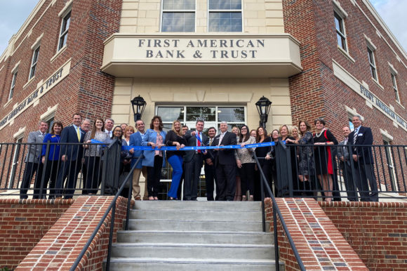 First American Bank & Trust opens in the heart of Lawrenceville