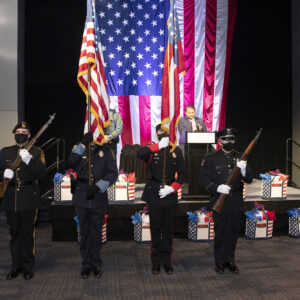Local public servants receive top honors for bravery at the Valor Awards