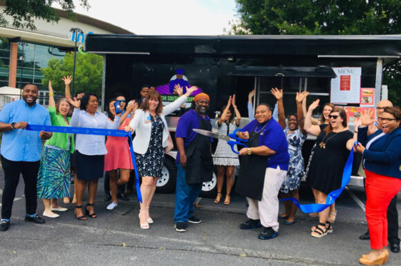 Taste of Tichi Food Truck celebrates ribbon cutting