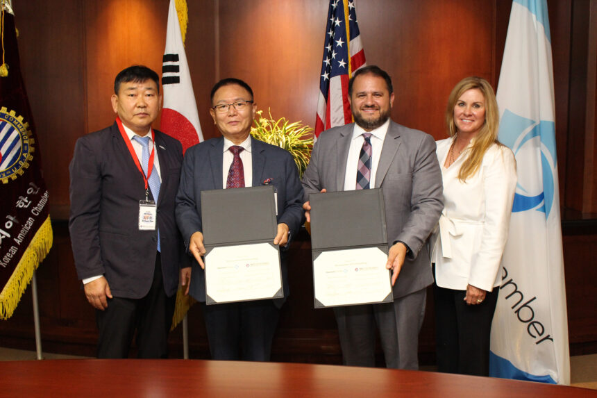 Gwinnett Chamber and Korean-American Chamber of Commerce of Atlanta-Georgia sign Memorandum of Understanding