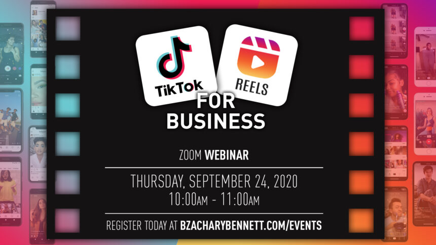 Tik Tok / IG Reels For Business-How to utilize TikTok and Instagram Reels As a Business