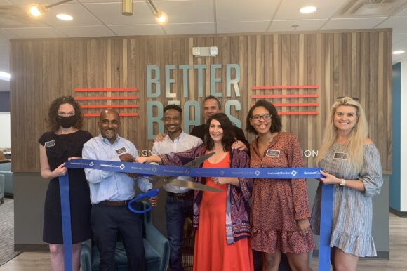 Better Beans Branding celebrates ribbon cutting in Duluth