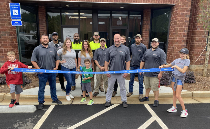 Locally-owned Aaron Overhead Doors celebrates ribbon cutting