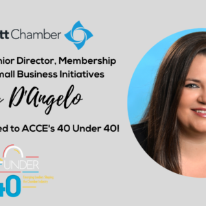 Cally D'Angelo named to ACCE 40 Under 40 list