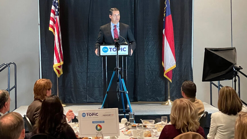 Gwinnett Chamber luncheon features Lt. Governor Geoff Duncan