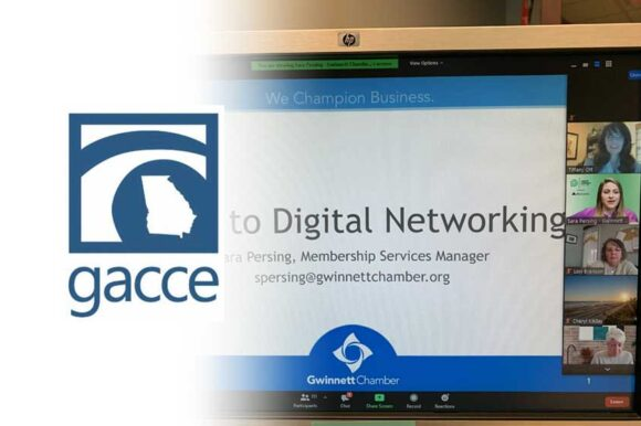 Gwinnett Chamber's digital networking a hit with GACCE