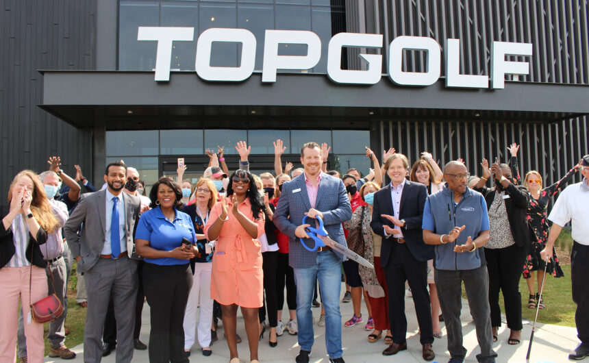 Topgolf opens at The Exchange at Gwinnett