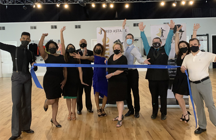 Fred Astaire Dance Studios of Duluth celebrates ribbon cutting