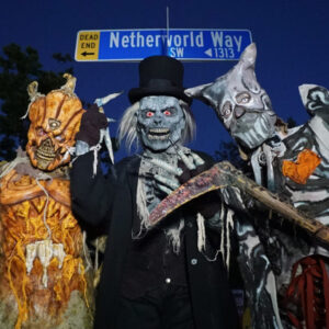 October 19—Spooky Social, featuring Netherworld Haunted House